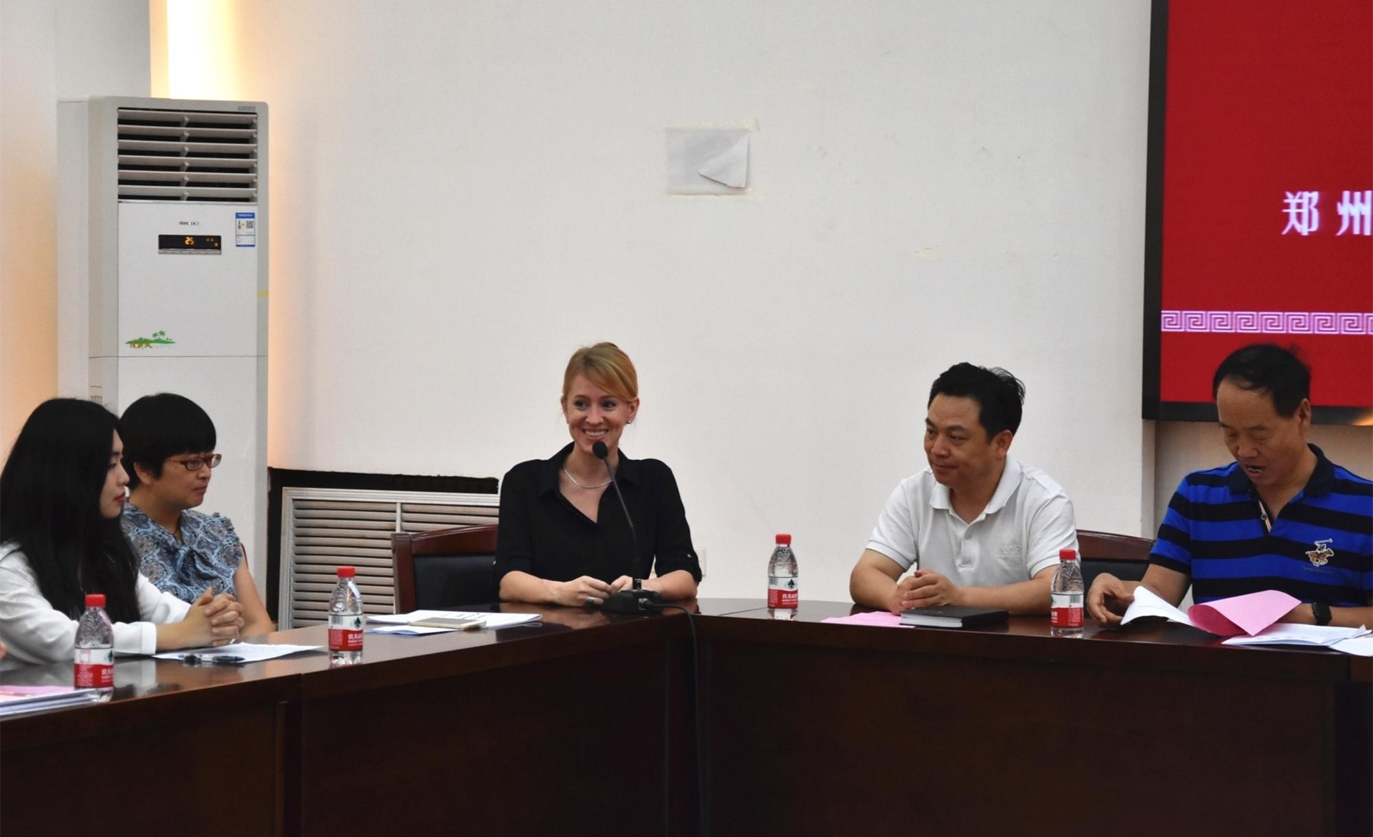 DSC 0234 - 郑州市2018年高中英语骨干教师高级研修班培训正式启动