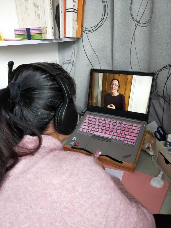 学员2 - 普陀区初中英语教师口语听力能力培训线上研修